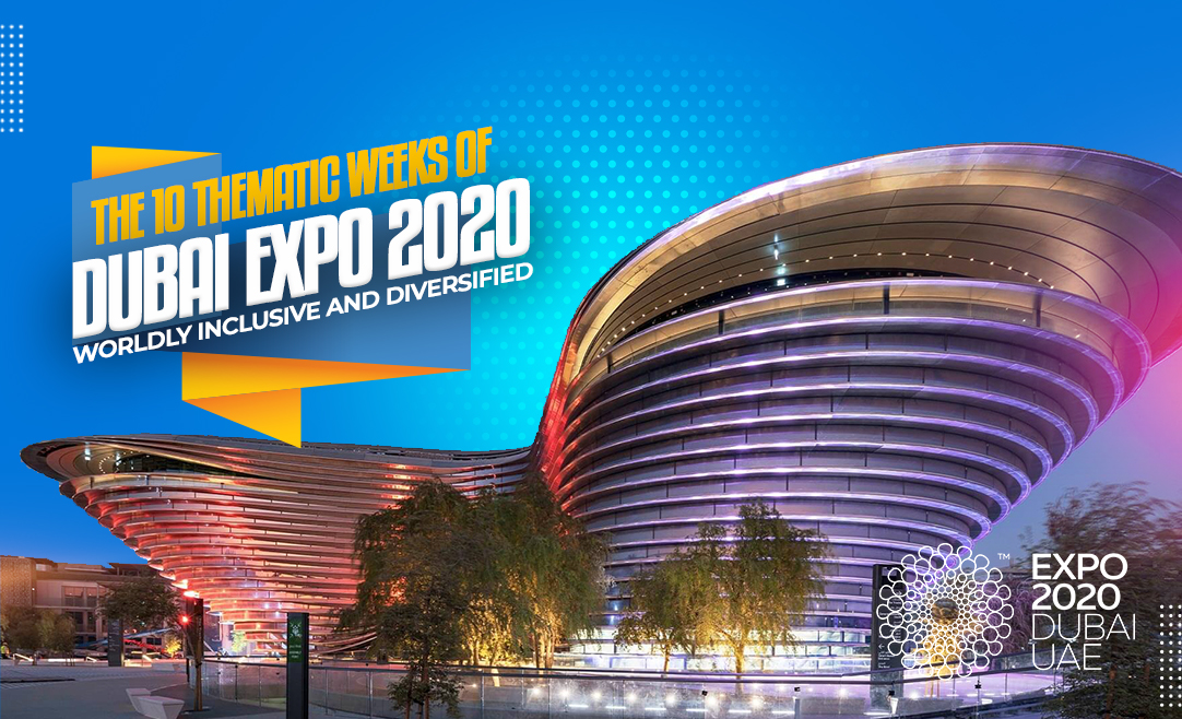 The 10 Thematic Weeks of Dubai Expo 2020: Worldly Inclusive And Diversified