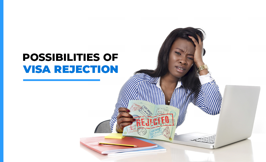 Possibilities of Visa rejection